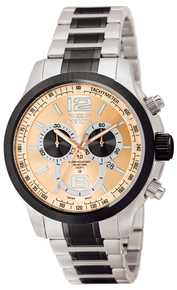Invicta Men's 0079 Specialty Quartz Chronograph Brown Dial Watch