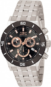 Invicta Men's 0389 Specialty Quartz Chronograph Black Dial Watch