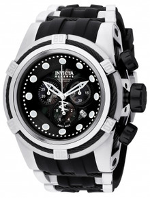 Invicta Men's 0827 Bolt Quartz Chronograph Black Dial Watch