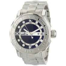 Invicta Men's 0884 Pro Diver Quartz 3 Hand Black Dial Watch