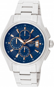 Invicta Men's 1482 Specialty Quartz Chronograph Blue Dial Watch