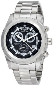 Invicta Men's 1559 Specialty Quartz Chronograph Black Dial Watch