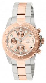 Invicta Men's 1775 Pro Diver Quartz Chronograph Rose Gold Dial Watch