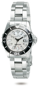 Invicta Women's 2958 Pro Diver Quartz 3 Hand White Dial Watch