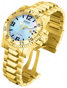 Invicta Men's 6244 Excursion Quartz 3 Hand Platinum Dial Watch