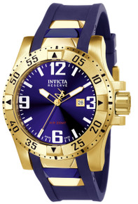 Invicta Men's 6254 Excursion Quartz 3 Hand Blue Dial Watch