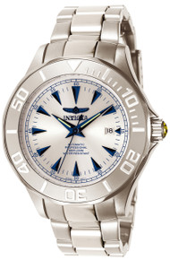 Invicta Men's 7033 Signature Automatic 3 Hand Silver Dial Watch