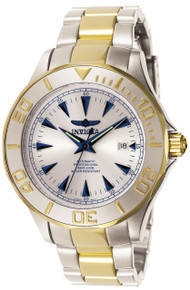 Invicta Men's 7036 Signature Automatic 3 Hand Silver Dial Watch