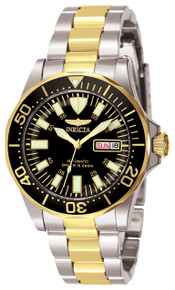 Invicta Men's 7045 Signature Automatic 3 Hand Black Dial Watch