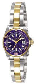 Invicta Women's 7064 Signature Quartz 3 Hand Blue Dial Watch