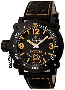 Invicta Men's 7271 Signature Quartz 3 Hand Black Dial Watch