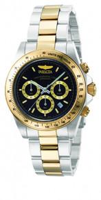 Invicta Men's 9224 Speedway Quartz Chronograph Black Dial Watch