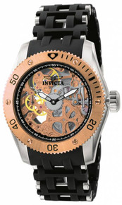 Invicta Men's 10351 Sea Spider Mechanical 2 Hand Black Dial Watch