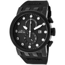 Invicta Men's 10427 DNA Quartz Chronograph Black Dial Watch