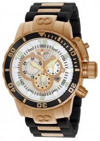 Invicta Men's 10620 Corduba Quartz Chronograph Silver Dial Watch