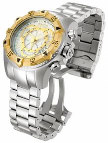 Invicta Men's 11002 Excursion Quartz Chronograph Silver Dial Watch