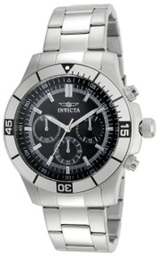 Invicta Men's 12839 Specialty Quartz Chronograph Black Dial Watch