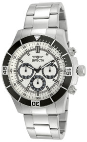 Invicta Men's 12841 Specialty Quartz Chronograph Silver Dial Watch