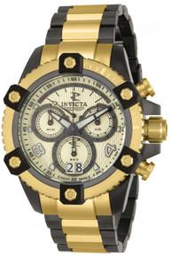 Invicta Men's 12985 Reserve Quartz Chronograph Gold Dial Watch