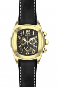 Invicta 13692 Men's Lupah Quartz Chronograph Black Dial Watch