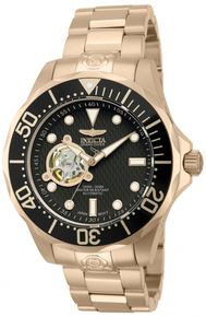 Invicta Men's 13713 Pro Diver Automatic 3 Hand Brown Dial Watch