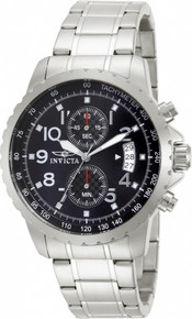 Invicta Men's 13783 Specialty Quartz Chronograph Black Dial Watch