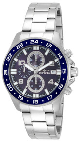 Invicta Men's 13865 Pro Diver Quartz Multifunction Blue Dial Watch