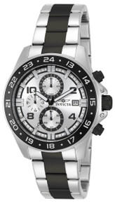 Invicta Men's 13869 Pro Diver Quartz Multifunction Silver Dial Watch