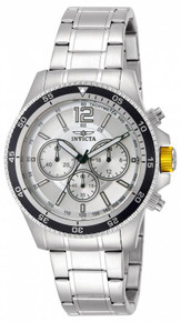 Invicta Men's 13975 Specialty Quartz Chronograph Silver Dial Watch
