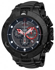 Invicta Men's 14411 Jason Taylor Quartz Chronograph Black Dial Watch
