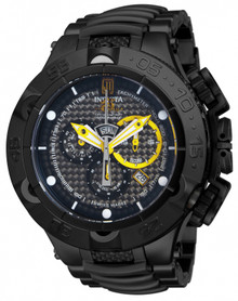 Invicta Men's 14412 Jason Taylor Quartz Chronograph Black Dial Watch