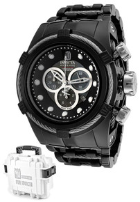 Invicta Men's 14425 Jason Taylor Quartz Chronograph Black Dial Watch