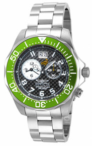 Invicta Men's 14443 Pro Diver Quartz 2 Hand Black Dial Watch