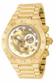 Invicta Men's 14737 Subaqua Quartz Chronograph Gold Dial Watch