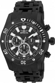 Invicta Men's 14862 Sea Spider Quartz Chronograph Black Dial Watch