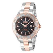 Invicta Men's 15168 Pro Diver Quartz 3 Hand Black Dial Watch