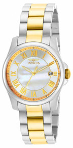 Invicta Women's 15236 Angel Quartz 3 Hand White Dial Watch