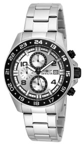 Invicta Men's 16022 Pro Diver Quartz Multifunction Silver Dial Watch