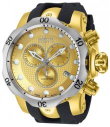 Invicta Men's 16151 Venom Quartz Chronograph Gold Dial Watch