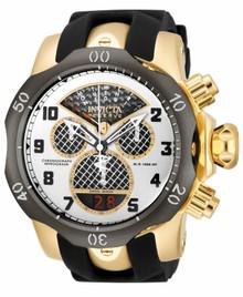 Invicta Men's 16311 Venom Quartz Chronograph Black, Silver, Gold Dial Watch
