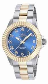 Invicta Men's 16742 Pro Diver Quartz 3 Hand Blue Dial Watch