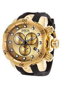 Invicta Men's 16985 Venom Quartz Chronograph Gold Dial Watch