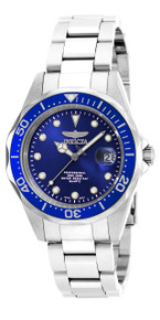 Invicta Men's 17048 Pro Diver Quartz 3 Hand Blue Dial Watch
