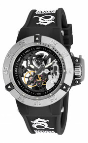 Invicta Women's 17129 Subaqua Mechanical 3 Hand Black Dial Watch