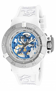 Invicta Women's 17144 Subaqua Mechanical 3 Hand Silver Dial  Watch