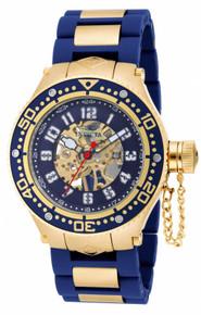 Invicta Men's 17247 Corduba Mechanical 3 Hand Blue Dial Watch