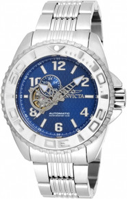 Invicta Men's 17456 Pro Diver Automatic 3 Hand Blue Dial Watch