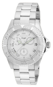 Invicta Women's 17523 Angel Quartz Chronograph Silver Dial Watch
