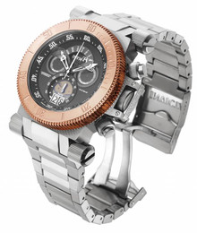 Invicta Men's 17645 Coalition Forces Quartz Chronograph Gunmetal Dial Watch