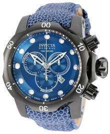Invicta Men's 18306 Venom Quartz Chronograph Blue Dial Watch